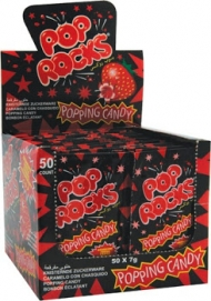 C.D. POP ROCKS CANDY PZ.50 FRAGOLA